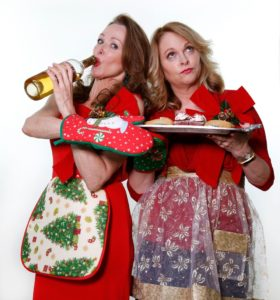 Wendy and Michelle Serve it Up for the Holidays. Christmas Cabaret for a Cause