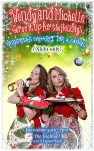 BWW Review: The Stage Austin's Wendy and Michelle Serve it Up for the Holidays
